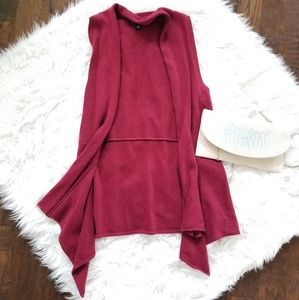 BANANA REPUBLIC SLEEVELESS CARDIGAN MARRON SZM